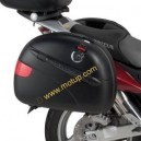 Portavaligia laterale tubolare Givi pl177 per Honda xl 1000 v 07