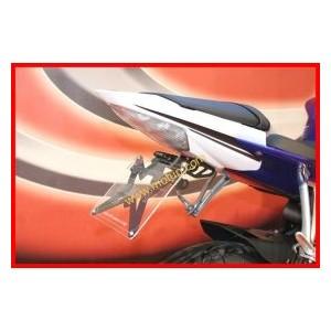 Portatarga regolabile Evotech per Yamaha yzf r6 600