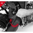 Portavaligia laterale serie plxr363 per Yamaha xt660z teneré