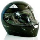 Casco Astone gto monocolor metallick black