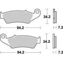Pastiglia anteriore sx o dx Braking per Honda xlv 700 transalp