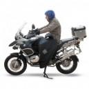 Coprigambe nero per BMW r 1200 gs gaucho Tucano Urbano