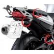 Portavaligie laterale tubolare ad aggancio rapido per valigie monokey per BMW f 800 r - Foto 1