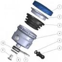 Serbatoio liquido freno anteriore ugello laterale Kawasaki zx10r, Ducati diavel e mv f3
