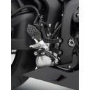 Pedane Rizoma con comandi arretrati regolabili Honda cbr 600 rr