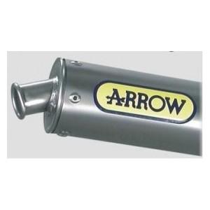 Silenziatore scarico Arrow titanio omologato Hm cre 50 baja  six