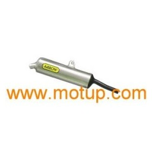 Silenziatore scarico Arrow titanio Beta rr 50 alu enduromotard 04 omolog.