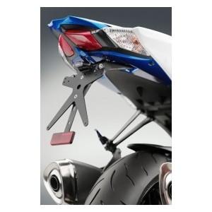 Portatarga regolabile nero Rizoma per Suzuki gsxr 1000 09
