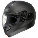 Casco modulare Shoei multitec matt black nero opaco