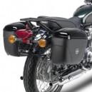 Portavaligie laterale tubolare per valigie monokey per Kawasaki w800