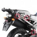 Portavaligie laterale tubolare ad aggancio rapido per valigie monokey Yamaha xt 1200z super tenere 10-13