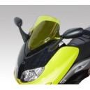 Cupolino double bubble giallo con attacchi Yamaha tmax