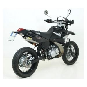 Silenziatore scarico Arrow mini thunder in titanio per Yamaha dt 125 r e dt 125 x 0406