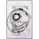 Kit tubi freno Fren Tubo acciaio raccordi acciaio BMW r 1200 gs 0607