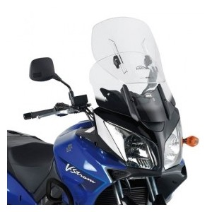 Parabrezza Givi scorrevole trasparente con attacchi per Suzuki vstrom dl650  dl1000 e Kawasaki klv 1000