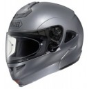 Casco modulare Shoei multitec pearl grey metallizzato