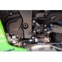 Pedane LighTech regolabili con cuscinetti per Kawasaki zx10r
