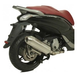 Marmitta Arrow reflex con collettore racing per Piaggio beverly 350 sport touring 2012
