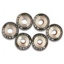 6 htroll Malossi, rulli calibrati ad alta resistenza per variatore originale Piaggio