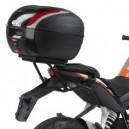 Portavaligia specifico per bauletti monolock KTM duke 125 2011