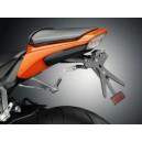 Portatarga regolabile nero Rizoma per Honda cbr 1000 rr