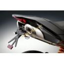 Portatarga regolabile nero Rizoma per KTM super duke r dal 2007