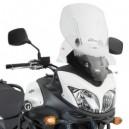 Parabrezza Givi scorrevole trasparente con attacchi per Suzuki dl 650 vstrom