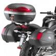Portavaligie tubolare laterale plx449 per Kawasaki er6n/er6f 650