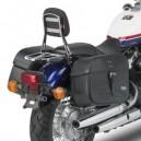 Telaietti distanziatori Givi per borse morbide laterali, cromati per Honda vt 750 s