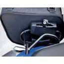 Telaio in metallo bags and bike con sistema fastclick per Suzuki vstrom 650