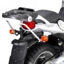 Portavaligia specifico per bauletti monolock per BMW f 650 cs scarver