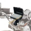 Custodia dispositivo pagamento pedaggio universale Givi per moto con manubri tubolari