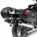 Portavaligie laterale tubolare Givi per valigie monokey side Kawasaki zzr 1400