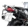 Portavaligie laterale tubolare ad aggancio rapido per valigie monokey per BMW f 800 r - Foto 2