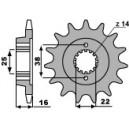 Pignone in acciaio PBR per Ducati hypermotard 796