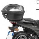 Portavaligia specifico nero  per Yamaha xenter 125 e 150