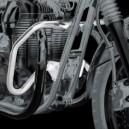 Paramotore Givi cromato per Kawasaki W800