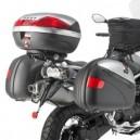Piastra specifica Givi per valigie monokey® per Moto Guzzi stelvio 1200