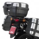 Portavaligia specifico per bauletti monolock Suzuki dl 650 vstrom