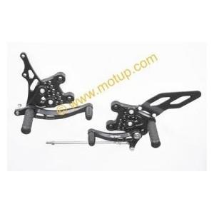 Pedane LighTech regolabili con cuscinetti per Suzuki gsxr 6007501000