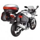 Staffe monorack Givi per Kawasaki zr 7 e zr 7s