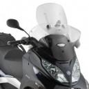 Parabrezza scorrevole specifico airflow trasparente per Piaggio mp3 touring 300  400