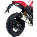 Terminale factory r omologato evo ii titanio Ducati monster 1100 evo