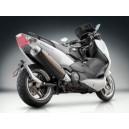 Portatarga regolabile Rizoma con attacco al forcellone Yamaha tmax 500