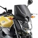 Cupolino Givi con attacchi specifici per Yamaha xj6 600 2009 nero opaco