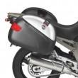 Portavaligie laterale tubolare Givi per valigie monokey® per Yamaha tdm 900