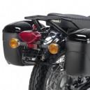 Portavaligia specifico nero lucido Kawasaki W800