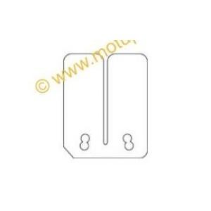 6 lamelle Malossi fibra di carbonio 2 spessore 0,30/0,35/0,40 vl11 per valvola originale quadatv