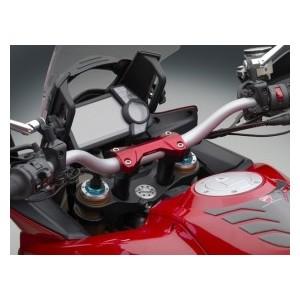 Blocchetto manubrio rosso Rizoma Ducati multistrada 1200 s