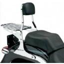 Schienalino cromato per Harley Davidson sportster 883 e 1200